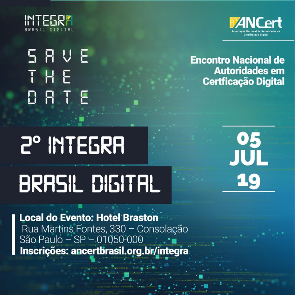 2º Integra Brasil Digital reúne empresários e entusiastas do setor de tecnologia em São Paulo