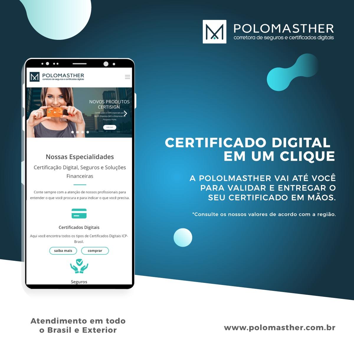 Certificado Digital em um clique