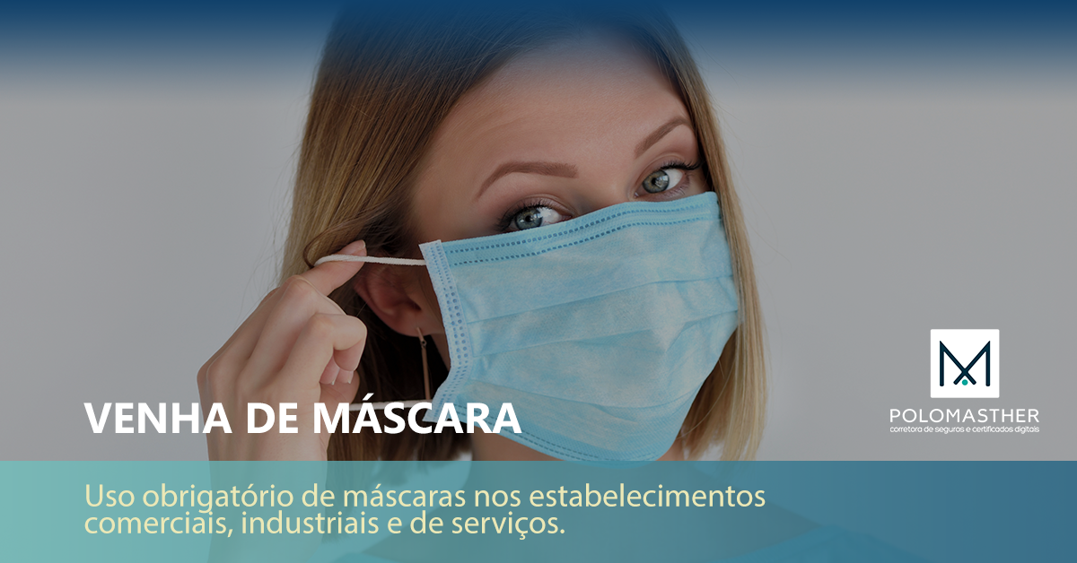 VENHA DE MÁSCARA